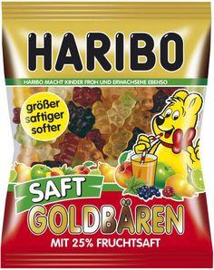 Haribo Gold Bears juice 175 g: Haribo Saft Goldbären.Mit Fruchtsaft. Haribo Candy, Haribo Sweets, Candy Recipes, Gourmet Recipes, Fruit Gums, Pastel Candy, Valeur Nutritive, Mini Donuts, Dessert Drinks
