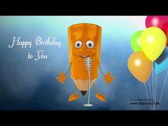 Happy Birthday to You, Original Melodie, Rock`n Roll Version, Geburtstagslied lustig Happy Birthday To You, Happy Birthday Funny, Happy Birthday Images, Birthday Clips, Birthday Songs, Birthday Quotes, Birthday Wishes, Rock N Roll, The Originals