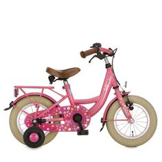 This lovely #Lief! #bicycle is a perfect #bike for little #girls with all the #pink details!