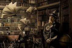 Image by Corin Spinks Book Photography, Short Stories, Steampunk, Louvre, Book Covers, Building, Travel, Magic, Viajes