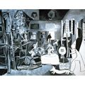 Picasso's Las Meninas - think this was one of the first pieces of his that I was just truly in awe of. Loved comparing it the the original.