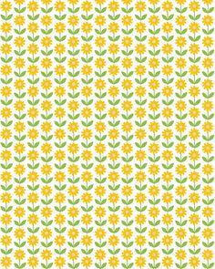 Surface Pattern Design, Pattern Art, Pattern Paper, Doll House Wallpaper, Yellow Pattern, Pretty Patterns, Pattern Wallpaper, Wallpaper Downloads, Montages
