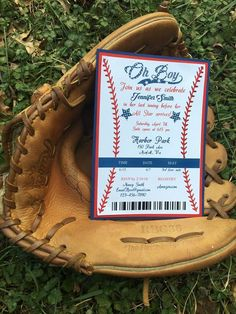 Items similar to Baseball Baby Shower Invitation, Baseball Baby Shower, Baby Shower Invitations, Baseball Baby Shower Invite, Boy Baby Shower on Etsy Themed Parties, Party Themes, Harbor Park, Baby Boy Shower, Baby Shower Invitations, Invite, Baseball, Handmade Gifts, Etsy