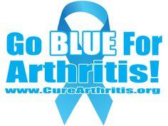 Go Blue For #Arthritis