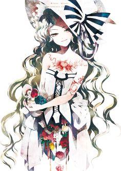 「白い魔女」/「kyachi」のイラスト [pixiv]