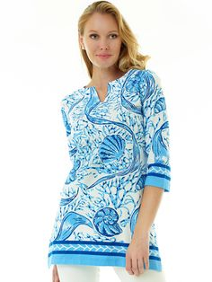 0c008f3507fef2 Resort Wear, Spring Collection, Spring 2016, Lily Pulitzer, Cool Designs,  Tunic