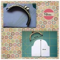 images attach c 10 110 435 Purse Patterns, Sewing Patterns, Coin Purse Tutorial, Frame Purse, Fabric Bags, Quilted Bag, Felt Dolls, Handmade Bags, Leather Craft