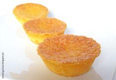 Queijadas de Leite, uma delícia em forma de bolo - Há alguém mais gulosa do que eu?