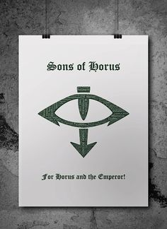Sons of Horus Pre-Heresy Warhammer 40K by ZsaMoDesign