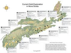 What Are Minerals, Nova Scotia, Maps, Canada, Explore, Blue Prints, Map, Cards, Exploring