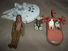 Vintage 70's Star Wars toys-my babysitter's sons had these and I loved playing with them.