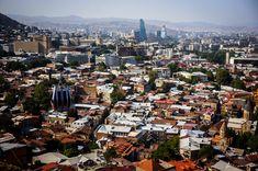 Tbilisi. Kolejka linowa  Gruzja