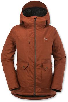 Volcom Era Insulated Jacket - Women's Snowboard Jackets Gift Idea - Winter 2016 - Christy Sports