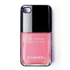 Чехол Лак 159 Fire Light Pink для iPhone 5