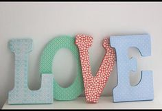 DIY: Patterned Wood Letters | Photos | HGTV Canada
