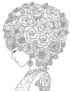 'pour voir la vie en rose' coloring book agenda 2016 on Wacom Gallery... - http://designkids.info/pour-voir-la-vie-en-rose-coloring-book-agenda-2016-on-wacom-gallery.html #designkids #coloringpages #kidsdesign #kids #design #coloring #page #room #kidsroom