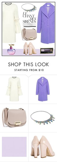 """""""LE CHANT DES SIRÈNES (MERMAIDS' SONG)!!!!"""" by kskafida ❤ liked on Polyvore featuring Mother of Pearl, Carven, ZAC Zac Posen, Fallon, Dee Keller, Nina Ricci and Max Factor"""