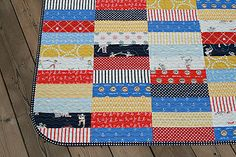Aye Aye Captain Quilt by Fresh Lemons : Faith, via Flickr