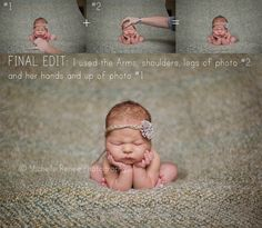 Newborn Pullbacks and Tips with Michelle Thompson :: Inspire Me Baby