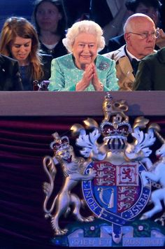 Une soirée de rêve à Windsor pour la reine Elizabeth II