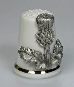 thimble thistle china & pewter sterling classic new