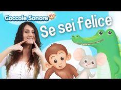 Se Sei Felice - Balliamo con Greta - Canzoni per bambini di Coccole Sonore - YouTube