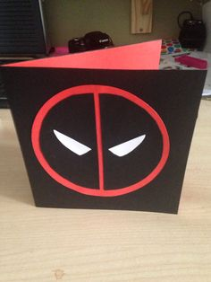 Paper craft with kristin h deadpool birthday card close to my deadpool cardbirthday card bookmarktalkfo Choice Image