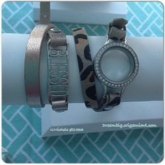 Origami Owl #Spring collection- #Leatherwrap #bracelets #Expressionframes #interchangeable www.mylifestorylocket.origamiowl.com designer#10531