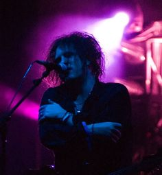 Robert Smith. I would hold you for infinity.