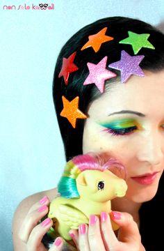 non solo Kawaii - Rainbow Pony  Makeup & Photo: Laura Castellanza  Model: Angela Chiappa