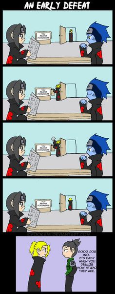 Itachi would have been able to tell... probably...lolol
