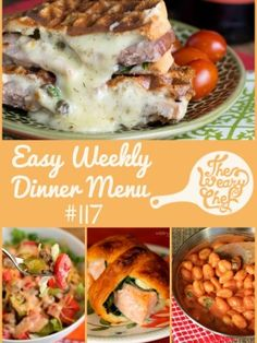 This week's easy dinner recipes show off the versatility of CHEESE!