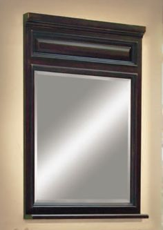 The Barton Hill bath vanity portrait mirror from Sunny Wood.  FInd out more at www.sunnywood.biz.