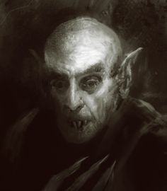 "blackzipperteeth: "" nosferatu by manzanedo """