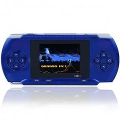 "DARK-BLUE 2.8"" LCD Portable Game Console With AV-Out And TONS of Built-In Games, Game Disk Included - Best Gift for Kids  Product sku: 119 Availability: 3  Price: $39.94"