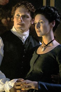 """""""And you, my Sassenach? What were you born for? To be lady of a manor, or to sleep in the fields like a gypsy? To be a healer, or a don's wife, or an outlaw's lady?"""" """"I was born for you,"""""""