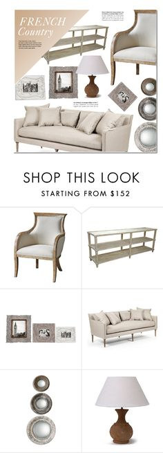 """""""French Country Decor"""" by kathykuohome ❤ liked on Polyvore featuring interior, interiors, interior design, home, home decor, interior decorating, country, Home, frenchcountry and homeset"""