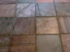 Installing Slate Tiles - © TrendTreasures Inc.