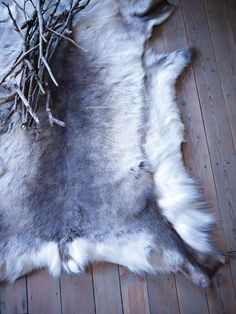 Natural Hide Rug - Cox and Cox Chalet Chic, Cox And Cox, Nature Collection, Interior Inspiration, Interior Ideas, Interior Styling, Interior Design, Shag Rug, Reindeer
