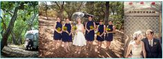 Such fun to have an Airstream at your wedding day!