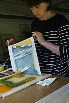 : : Laura Boswell - Printmaker - About Japanese woodblock : :