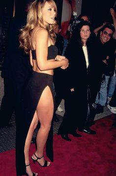 A young Mariah Carey
