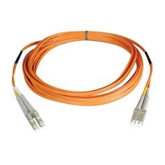 Tripp Lite N520-100M  Multimode Duplex 50/125 Fiber Optic Patch Cable LC/LC (100 Meters) by Tripp Lite. $117.98. From the Manufacturer                 Don't settle for less than the best—enjoy better signal quality and faster transmission! Tripp Lite's N520-Series fiber cables assure peak performance throughout your local area network application. Unlike cut-price cables, the N520-Series is manufactured to exacting specifications, using superior materials, for a difference you ...