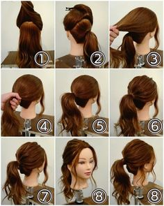 Pin by styles de cheveux on styles de cheveux in 2019 – Hair Styles Up Hairdos, Work Hairstyles, Trendy Hairstyles, Braided Hairstyles, Braided Updo, Waitress Hairstyles, Layered Hairstyle, Ladies Hairstyles, Easy Updo