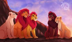 Another scene from I wanted to draw including Kion Characters © Disney Picture © Digital Iguana If you are interested in commissions. Lion King Series, The Lion King 1994, Lion King Fan Art, Lion King 2, Lion King Movie, Le Roi Lion Disney, Simba Disney, Disney Lion King, Disney And Dreamworks
