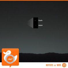 LA TERRA VISTA DA MARTE  Il Mars Curiosity Jeep ha scattato questa foto il 31 gennaio, 80 minuti dopo il tramonto sul pianeta rosso. Ed ecco come appaiono la Luna e il nostro pianeta a 160 milioni di km di distanza!   http://m.standaard.be/cnt/dmf20140207_00968328?utm_source=facebook&utm_medium=social&utm_term=dso&utm_content=article&utm_campaign=seeding