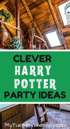 Harry Potter Decorations. Harry Potter party games. Cool, unique ideas for your next Harry Potter Birthday or Halloween party. Fun for kids, teens, and adults.