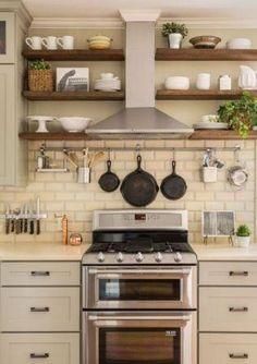 Neutrals & Greige kitchen.