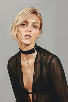 midnight-charm:    Anja Rubik x IRO Paris
