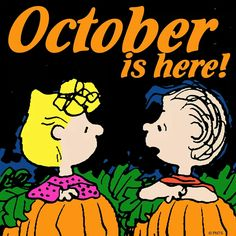 Snoopy ❤ 🎃October is here🎃